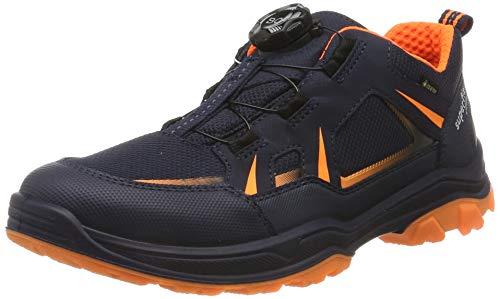 Superfit Jungen Jupiter Gore-Tex Sneaker, Blau (Blau/Orange 80), 34 EU