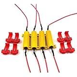 4pcs 50W 6ohm resistencias de carga–Fix bombilla LED Flash rápido Hyper intermitente Blink código de error