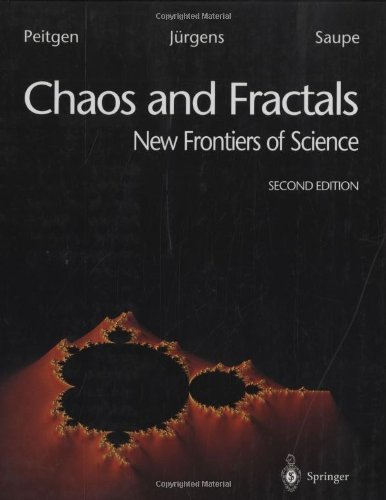 Chaos and Fractals: New Frontiers of Science by Peitgen, Heinz-Otto, J¨¹rgens, Hartmut, Saupe, Dietmar (1993) Hardcover