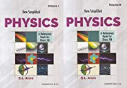 New Simplified Physics : A Reference Book for Class 12 Examination 2020-2021 (Set of 2 Volumes)