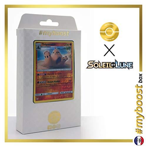 Trépassable (Palossand) 75/149 Holo Reverse - #myboost X Soleil & Lune 1 - Box de 10 Cartas Pokémon Francés