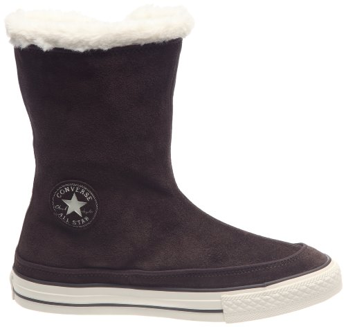 Converse Chuck Taylor All Star Beverly Mid, Boots femme Chocolat/écru