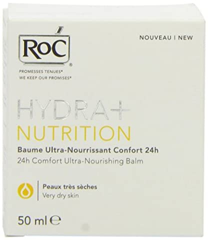 Roc Hydra+ Nutrition Baume Ultra-Nourrissant Confort 24h 50 ml