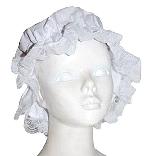 erdbeerclown - Kopfbedeckung - Erwachsene Tuch Zubehör Mütze, (Labor Für Kostüme Monster Erwachsene)