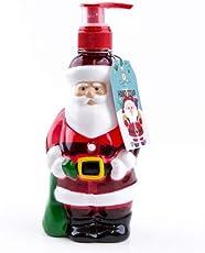 Accentra Seifenspender Weihnachtsmann Mit Flüssigseife   Weihnachtliche  Seife Mit Winter Berry Duft   Weihnachts Deko