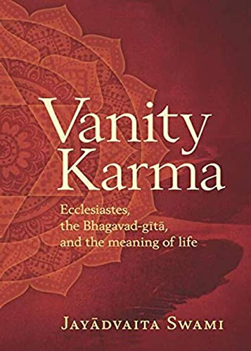 Krishna Book Store Devotional Books Vanity Karma by Jayadvaita Swami