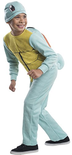 Pokemon Squirtle Child Costume Jumpsuit Large