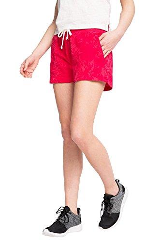 Esprit Sports 016ei1c003 - Cotton-mix Sweat Shorts With Pockets - Pantalon de sport - Femme Rouge - Rot (CHERRY RED 3 617)