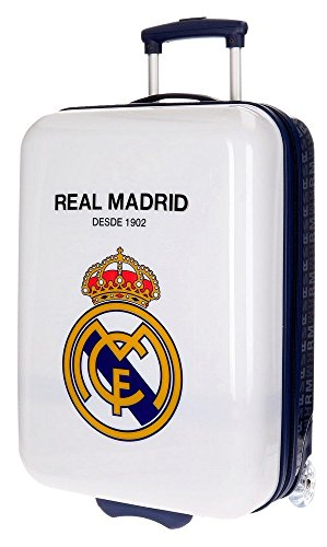 Trolley Abs 55cm.2r.Hala Madrid Blanco