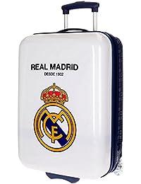 Real Madrid Hala Kindergepäck, 55 cm, 34 liters, Weiß (Blanco)