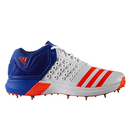 reputable site 8d59d a3bd8 adidas Adipower Vector Mid Cricket Shoe, Natural, UK6.5
