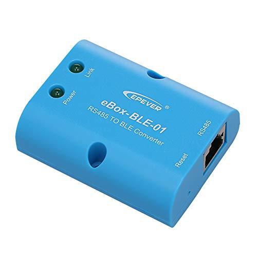 Blusea eBox-BLE-01 RS485 BT Adapter Serielles Modul Für alle Solar-Laderegler und Wechselrichter mit RS485-Anschluss von Mobile Phone Android APP -