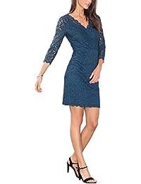 ESPRIT Collection Damen Kleid 096eo1e012