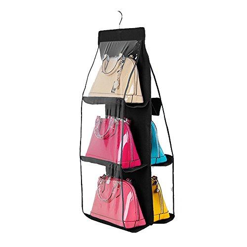 Qearly Mode Grande étagères Murale étagère Suspendue Cube de Rangement-Noir