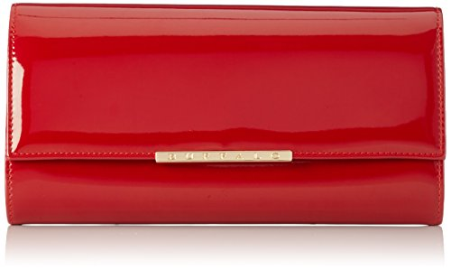 Buffalo Damen Bag BWG-05 PATENT PU Clutches, Rot (RED 18), 25x13x4 cm
