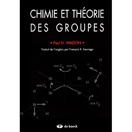 Chimie et theorie des groupes