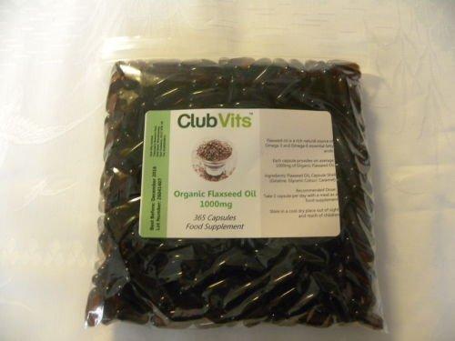 club-vits-organisches-leinsamenol-1000mg-365-kapseln-tute-mit-verschluss