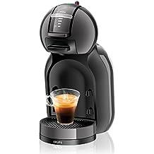 Krups KP 1208 Nescafé Dolce Gusto Mini Me Kaffeekapselmaschine (1500 Watt, automatisch) anthrazit/grau