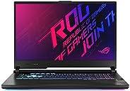 Asus ROG Strix G17 G712LW-EV002T Gaming Laptop (Orignal Black) - Intel i7-10750H 2.6 GHz, 16 GB RAM, 1TB, Nvid