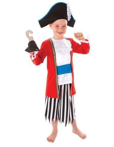 Imagen de kids party world  disfraz de capitán pirata para niño, talla 6  8 años 994975