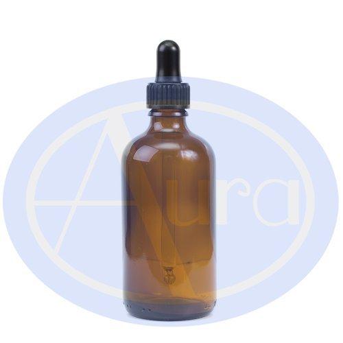 100ml BRAUNGLAS-Flasche mit GLAS-Pipette. Ätherisches Öl / Verwendung in Aromatherapie -