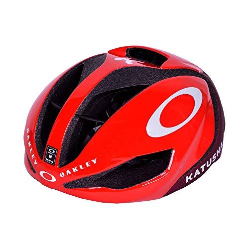 Oakley ARO5 Katusha - велосипедный шлем (размер M), цвет красный