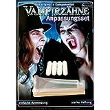 Denti Canini Vampiro Con Calco In Resina Termoplastica by ARTUROLUDWIG
