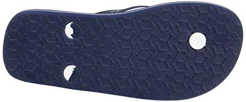 O'Neill - Fb Profile Pattern Flip Flops, Scarpe da Spiaggia e Piscina Bambino Bleu (Blue Aop W)