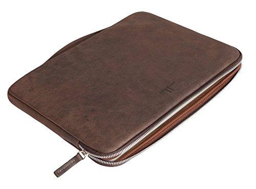 mabba® MacBook Tasche Leder für das Macbook 13