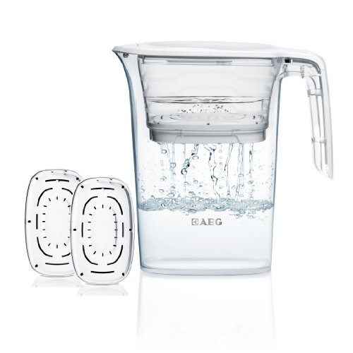 AEG Electrolux AWFPKIT AquaSense Starterpack/Wasserfilter AquaSense 1000/Inklusive 3 Filter-Kartuschen