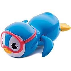 Munchkin - Pingüino buzo nadador para la hora del baño, color azul