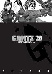 Gantz Volume 28 by Hiroya Oku (2013-08-13)