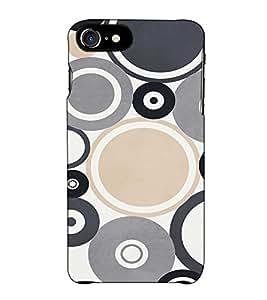 Fuson Designer Back Case Cover for Apple iPhone 7 (Colourful Designer Theme)