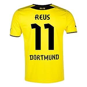 "Puma BVB Borussia Dortmund Kids Home Trikot (743563-01), - Reus 11, XL Boys - 32-34"" Chest"