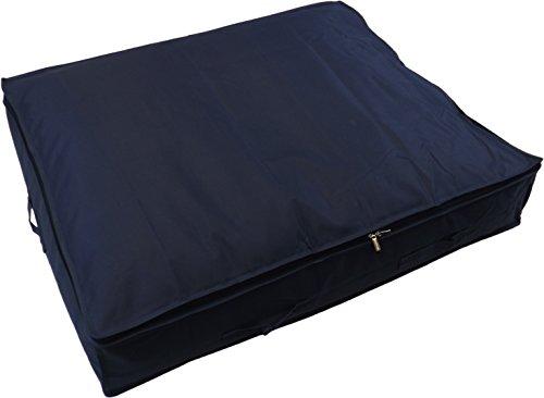 Neusu Starke Unterbett-Aufbewahrungstasche, XL, 130 Liter 96x78x18cm, Blau -