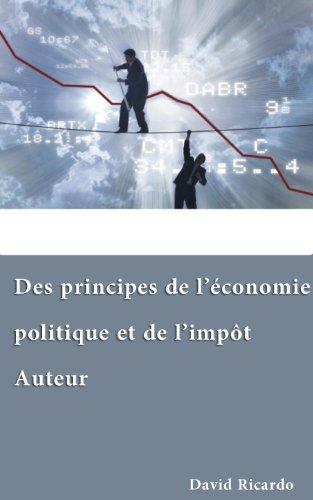 Des principes de lconomie politique et de limpt