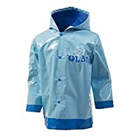 Disney Frozen Boys Olaf Blue Rain Coat - Toddler