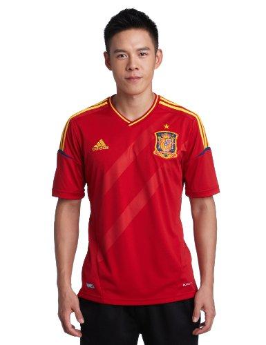Adidas FEF H JSY Rojo Hombre Camiseta