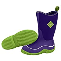 Muck Boots Kids Hale Purple and Green (UK Size 12)