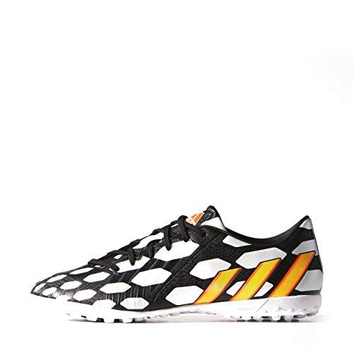 adidas, Scarpe da calcio uomo black1/neonor/runwht Arancione-Bianco-Nero