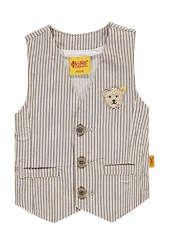 Steiff Baby-Jungen Weste, Mehrfarbig (Y/D Stripe Vertical 0005), 74
