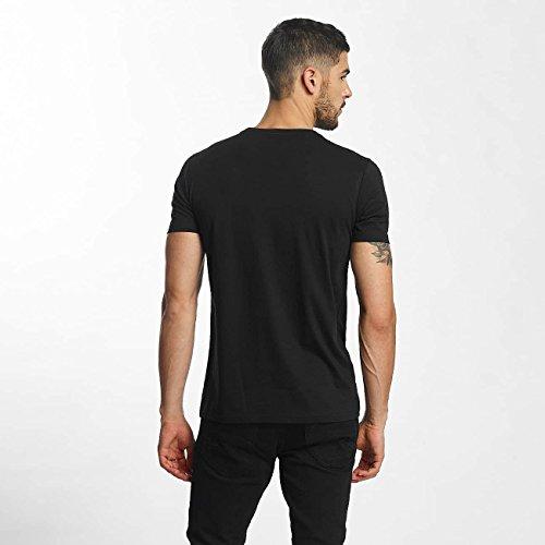 SHINE Original Uomo Maglieria/T-Shirt Animal Print Nero