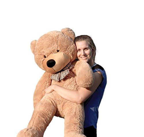 Joyfay oso de peluche 100 - 200 cm gigante de la muñeca de juguete suave de la felpa de peluche oso de peluche de juguete oso peluche gigante peluches gigantes osos de peluche gigantes (120 cm, Marrón)
