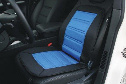 Preisvergleich Produktbild Heizbare Sitzauflage - Color - schwarz/blau