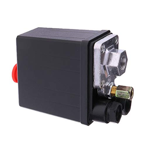 Soportes válvula control presión compresor aire