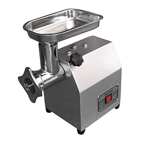 IDABAY Picadora de Carne Profesional electrica de Acero Inoxidable Embutidora de Salchichas Uso para Comercial o doméstico TK-8 60kg/h 400w