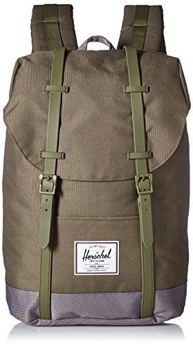 Herschel , Unisex Erwachsene Rucksack, gruen_olivgrün, gruen, Einheitsgröße