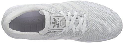 adidas Los Angeles, Unisex Adulto Scarpe da Corsa Bianco (Blanc (Ftwr White/Ftwr White/Vintage White S15 St))