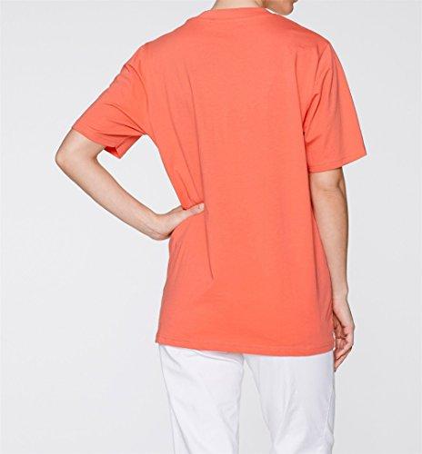 Damen Basic Shirt Viskose Jersey, 84532 in Weiß bedruckt/Rosa/Indigo/Lachs/Weiß siehe Beschreibung