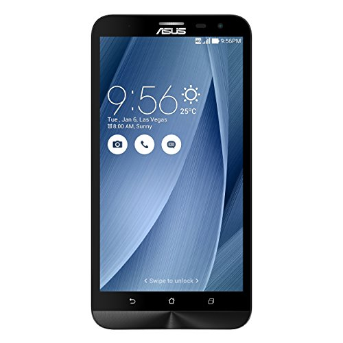 ASUS ZenFone 2 Laser ZE601KL - Smartphone Android de 6' (Full HD, cámara 13 Mp, 32 GB, Octa-Core 1.7 GHz, 3 GB RAM, dual SIM), color plata